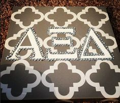 THE cutest AXiD canvas I've ever seen!