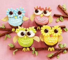 owl pull apart cake - Google Search