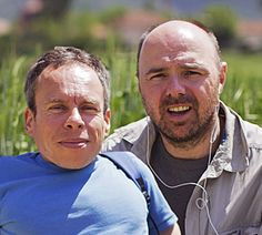 Warwick Davis & Karl Pilkington in An Idiot Abroad - loved them together, annoying each other.