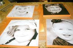 Another way to transfer photos onto wood.  Can you tell what I'm thinking about for mother's day :)?