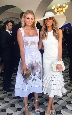 2018 forecast for Spring Racong fashion 2019 – Sommerkleider Trend 2019 Derby Outfits, Race Day Outfits, Elegant Outfit, Ladies Day, Beautiful Dresses, Elegant Dresses, Pretty Dresses, Evening Dresses, Ideias Fashion
