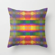 Abstract for Today Throw Pillow by Lyle Hatch - $20.00