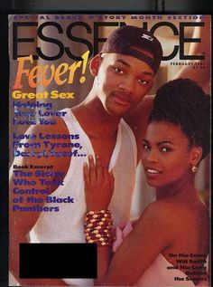 Wow, what a beautiful cover! Can you imagine if these two (Will Smith & Nia Long) had ended up together in real life? They had such great chemistry on The Fresh Prince of Bel-Air! Jet Magazine, Black Magazine, Magazine Wall, Black Love, Black Is Beautiful, Ebony Magazine Cover, Magazine Covers, New Jack Swing, Essence Magazine