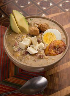 Fanesca:: comida tipica ecuatoriana:: receta facil
