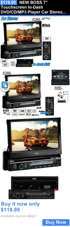 Vehicle Electronics And GPS: New Boss 7 Touchscreen In-Dash Dvd/Cd/Mp3 Player Car Stereo Radio W/Usb/Sd BUY IT NOW ONLY: $119.95