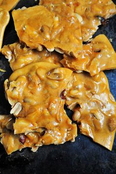 Peanut Brittle - Peanut brittle has always been a favorite in my family. Such a classic! // addapinch.com
