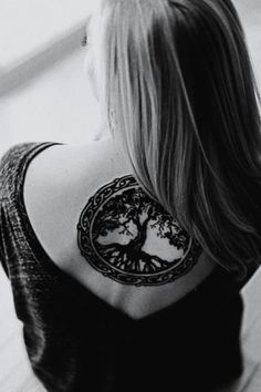 Tree of life back tattoo