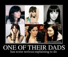 One of their dads has some serious explaining to do!! oh my.... YES!! Hahaha