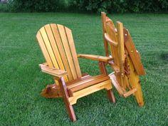 Folding Adirondack Chair Plan   Furniture - Adirondack chairs ...