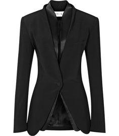 REISS   Maddalena Inserted Shawl Collar Jacket