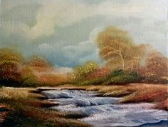 The Large Stream / 11x14 oil & canvas
