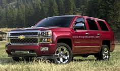 An interesting version but I'm not totally sold on it. What do you think?Rendered: 2014 Chevy Tahoe