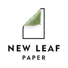 New Leaf Paper - Logo Database - Graphis