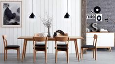 Home :: Furniture :: Dining :: Dining Chairs :: Retro Oak Dining Chair