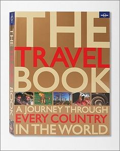 the perfect gift for those struck with wonderlust....Travel Book ($30)