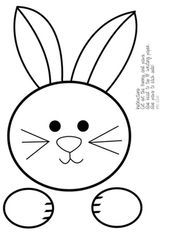 Easter Topper and Writing Pages - Spring Crafts For Kids Easter Arts And Crafts, Spring Crafts For Kids, Bunny Crafts, Crafts For Kids To Make, Kids Diy, Easter Templates, Easter Coloring Pages, Egg Coloring, Diy Ostern
