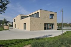 Röben Klinker, Bricks | Brick-Design® Jugendzentrum Zellerau