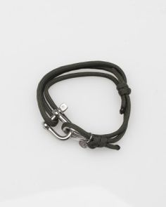 This is cool - want to go to hardware store and/or marine store now. Or toolbox.       DIY bracelet - love it. Hardware can be found at West Marine. by carlene