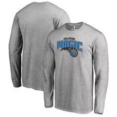 Orlando Magic Fanatics Branded Big & Tall Primary Logo Long Sleeve T-Shirt - Ash - $39.99