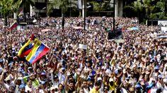 16/02/2014 - Manifestantes voltam às ruas contra a violência em Caracas -http://veja.abril.com.br/noticia/internacional/manifestantes-voltam-as-ruas-em-caracas-contra-a-violencia-dos-chavistas