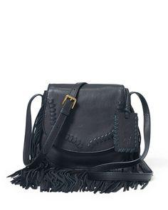 ba8f57b1d2 Fringed Leather Cross-Body Bag Me Bag