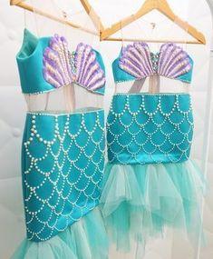 little mermaid costume idea Mermaid Theme Birthday, Little Mermaid Birthday, Little Mermaid Parties, The Little Mermaid, Honey Bee Kids, Ariel Costumes, Halloween Costumes, Ariel Dress, Halloween Disfraces