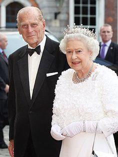 Queen Elizabeth ll and Prince Philip