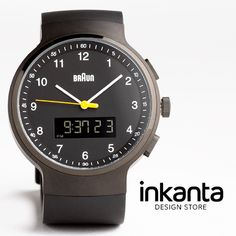 Reloj BrAun .¡For design Lovers! #inkanta
