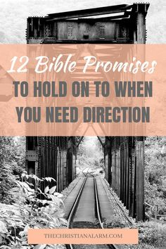 God's promises are true. If you're looking for spiritual direction read 12 Bible Promises to hold on to when you need Direction. Bible Verses Quotes, Bible Scriptures, Stress Scriptures, Jesus Christ Quotes, Bible Promises, Bible Prayers, Daily Bible, Power Of Prayer, Praise God