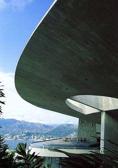 JOHN LAUTNER, The Arango House, 1973, Acapulco, Mexico. /wayofthesamvrai