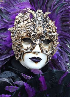 Lovely mask at the 2011 Carnevale in Venice (IMG_9929a) by Alaskan Dude, via Flickr