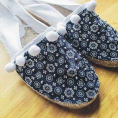 Taller de costura - calzado - Looks and DIY Costura Diy, Refashion, Espadrilles, Couture, Boho, Sewing, Dance Quotes, Ideas, Vestidos
