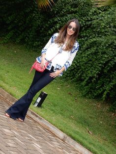 Look do Dia – Azul e Rosa #gabimay #lookdodia #ootd
