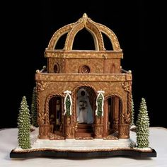 Cathedral of the Angels - gingerbread