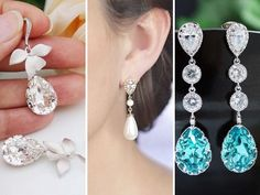 Earring - Best Wedding Jewelry Ideas and Suggestions for Brides-to-Be - EverAfterGuide