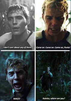 I cried when Mags does but not when Finnick did. I am deeply wrong. ~MG