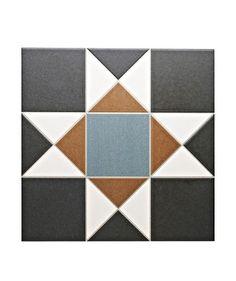 Grosvenor™ Black/Blue Tile