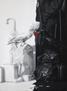Eckart Hahn, Maat, 2012, Acryl auf Leinwand, 80 x 60 cm