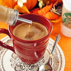 How to make Silky Smooth Low Carb and Sugar Free Pumpkin Spice Creamer At Home (Better Than Starbucks!) | Healthy Indulgences