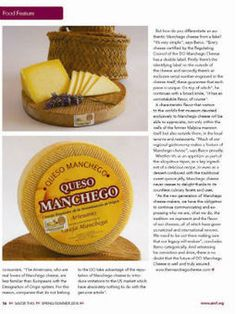 "Queso manchego: ""Yes, I like"""