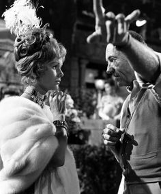 Check out this image from TCM.   Off-camera photo of Debbie Reynolds and director Charles Walters on the set of the film THE UNSINKABLE MOLLY BROWN.