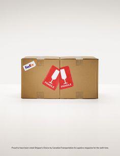 BBDO – Fedex: Cheers ad