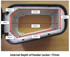 GMB Fender Locker - Products