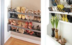 DIY 5 Steps to a Shoe Storage Solution & DIY: 5 Steps to a Shoe Storage Solution | HOME u2022 entry hall ...