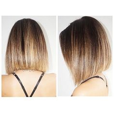A Line Bob Straight Hair