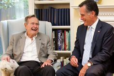 Analysis: Why George H.W. Bush's endorsement comes at a good time for Mitt Romney