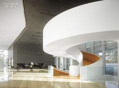These 8 spiral staircases are simply amazing: