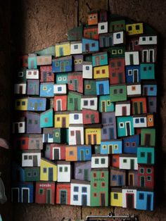 Cardboard City, Elementary Art Rooms, Making Wooden Toys, Driftwood Crafts, 3d Wall Art, Collaborative Art, Wooden Wall Art, Art Plastique, Art Sketchbook