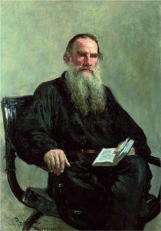 Portrait of Leo Tolstoy by Ilya Repin, 1887. Tretyakov Gallery, Moscow, Russia.