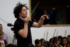 El director venezolano de orquestas sinfónicas, Gustavo Dudamel, Venezuela